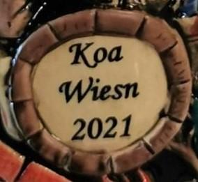 2021 Oktoberfest Krug King Werk Jahreskrug